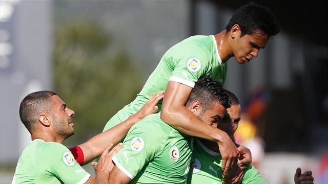 الجزائر تحقق فوزاً معنوياً مهماً على آرمينياً