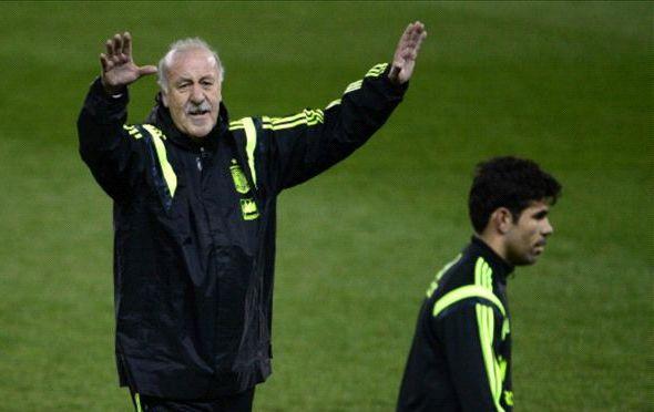 ديل بوسكي يكشف عن قائمة إسبانيا النهائية للمونديال