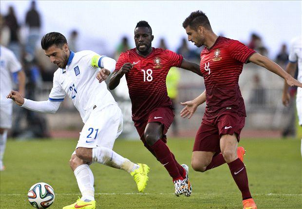 البرتغال تتعادل مع اليونان سلبياً بغياب رونالدو
