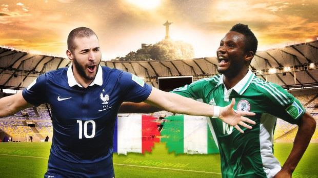 تشكيلتا فرنسا ونيجيريا المتوقعتان