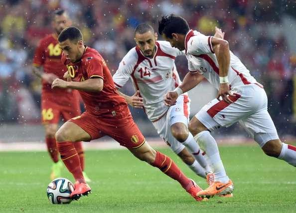 بلجيكا تتغلب على تونس 1-0