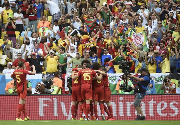 بلجيكا تتغلب على روسيا وتتأهل للدور الثاني