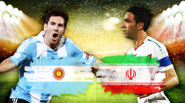 تشكيلتا الأرجنتين وإيران المتوقعتان