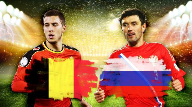 تشكيلتا بلجيكا وروسيا المتوقعتان