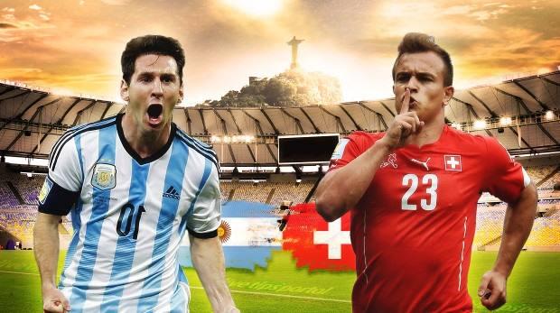 تشكيلتا سويسرا والأرجنتين المتوقعتان