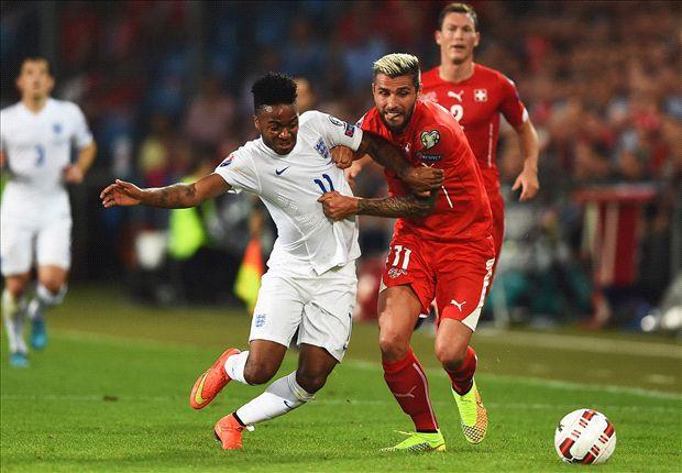 إنجلترا تحقق فوزاً مقنعاً على سويسرا