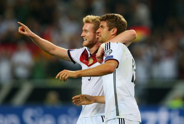 ألمانيا تحقق فوزاً صعباً على اسكتلندا