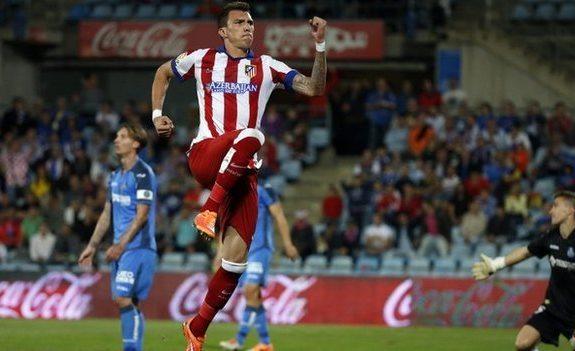 أتلتيكو مدريد يتغلب على خيتافي بهدف ماندجوكيتش