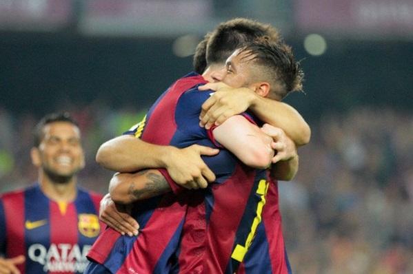 برشلونة يعزز صدارته بالفوز على آيبار