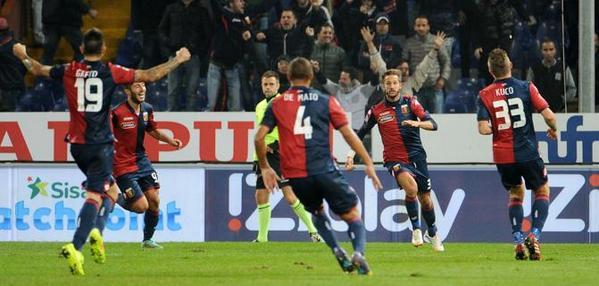 جنوى يصدم يوفنتوس ويلحق به الخسارة الأولى في الدوري الإيطالي