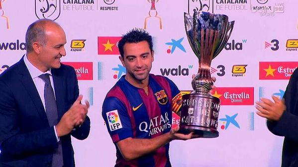 برشلونة يفوز على إسبانيول ويظفر بكأس كتالونيا