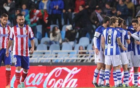 ريال سوسييداد يضيف أتلتيكو مدريد إلى قائمة ضحاياه