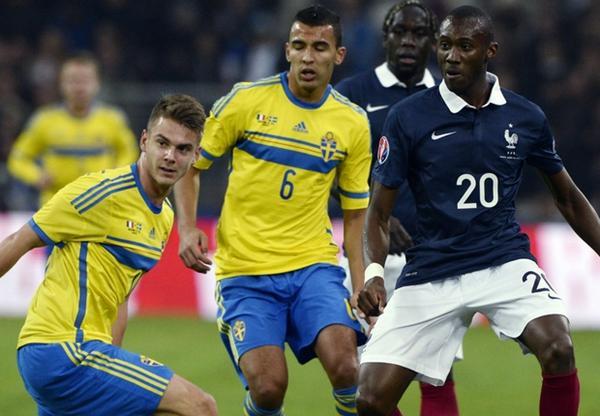 فرنسا تفوز على السويد بفضل هدف فاران
