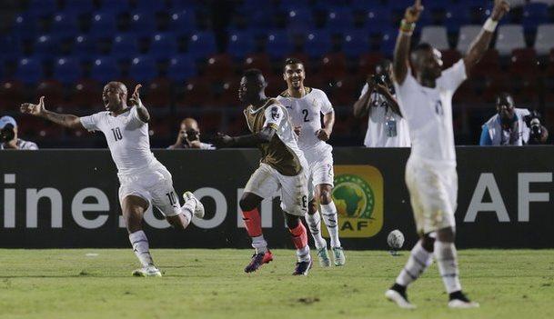 غانا تتخطى جنوب إفريقيا وتتأهل لربع النهائي