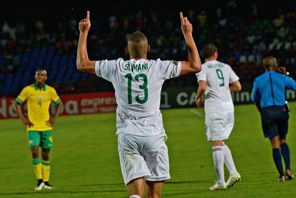 الجزائر تقلب تأخرها وتحقق الفوز على جنوب إفريقيا