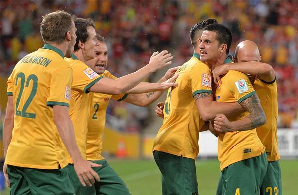 استراليا تطيح بالصين وتبلغ نصف نهائي كأس آسيا