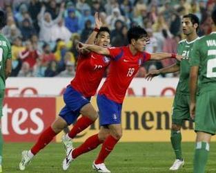 كوريا الجنوبية تتغلب على العراق وتبلغ نهائي كأس آسيا