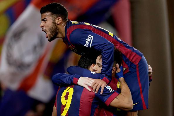 برشلونة يخطو خطوة كبيرة نحو بلوغ نهائي كأس إسبانيا