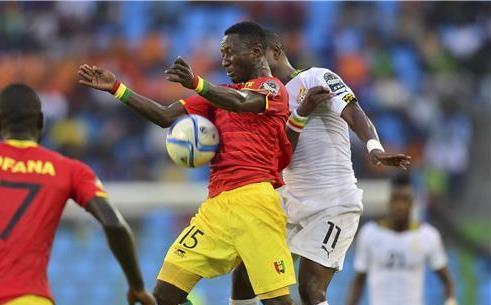 غانا تسحق غينيا وتتأهل لنصف نهائي كأس إفريقيا