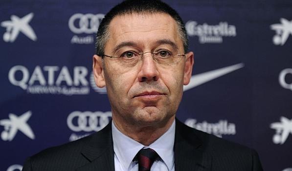 بارتوميو يؤكد براءته في قضية تعاقد برشلونة مع نيمار