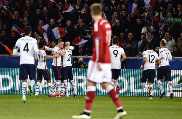 فيديو: فرنسا تسترد عافيتها بالفوز على الدنمارك