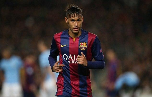 نيمار يجدد عقده مع برشلونة حتى 2020
