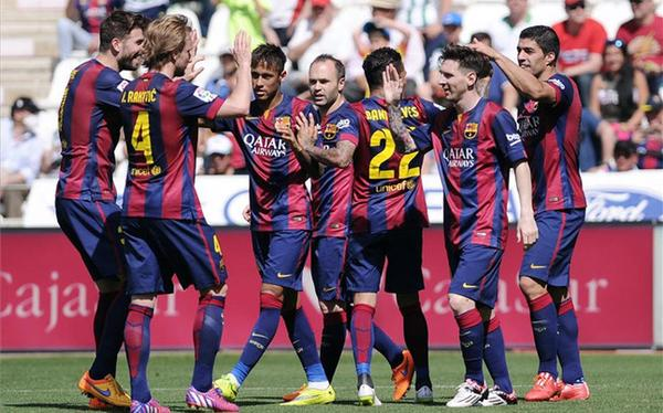 فيديو: برشلونة يدك شباك قرطبة بثمانية أهداف