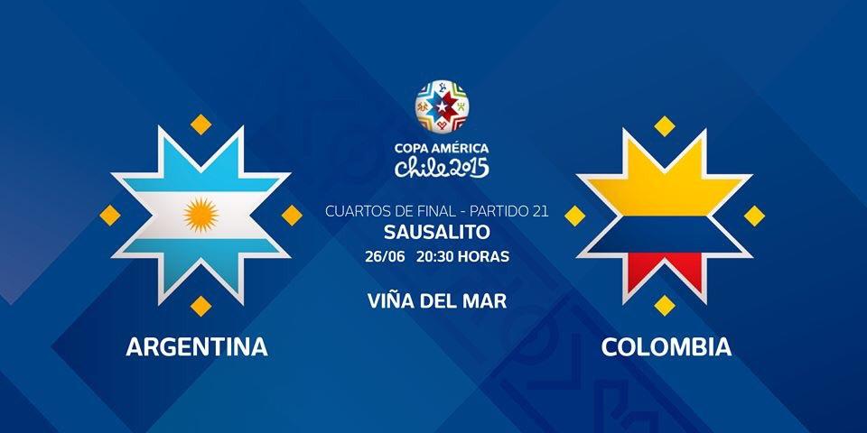 تقديم: الأرجنتين تقابل كولومبيا في ملحمة كروية