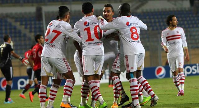 الزمالك يقترب من الحصول على درع الدوري المصري