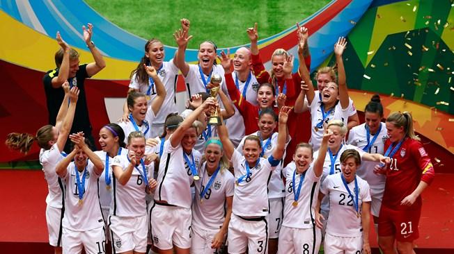 سيدات أمريكا يحققن لقب كأس العالم للمرة الثالثة
