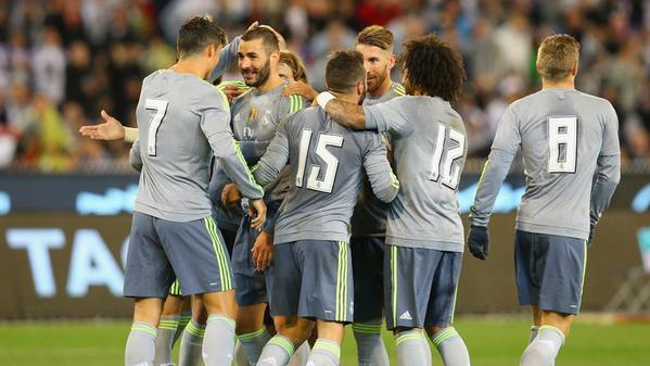 ريال مدريد يكمل جولته الاستعدادية في الصين