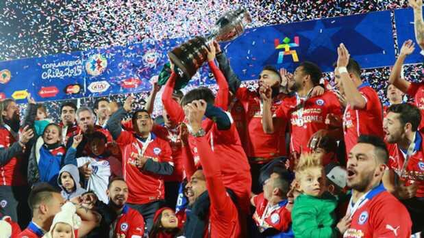 تشيلي واللقب الأول