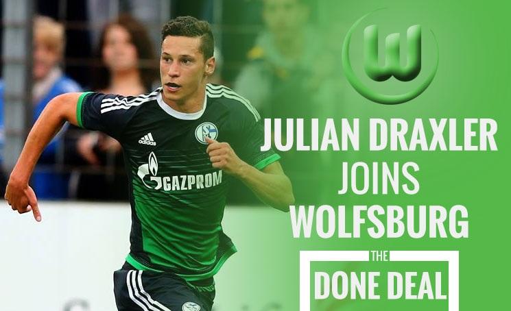 رسمياً: دراكسلر ينتقل إلى فولفسبورغ