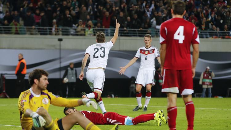 بالفيديو: ألمانيا تتأهل برقم قياسي لنهائيات كأس أمم أوروبا