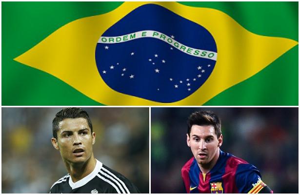 مدربو البرازيل يختارون الأفضل بين رونالدو وميسي