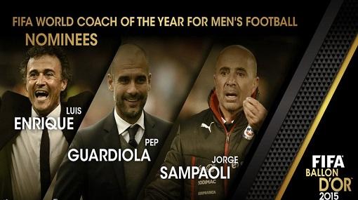 عاجل: الإعلان عن المُرشحين النهائيين لجائزة أفضل مدرب