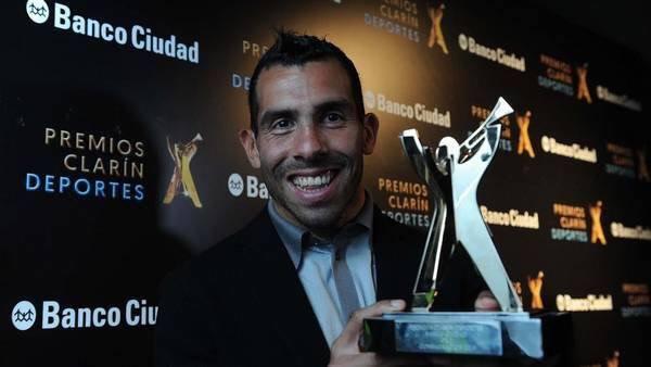 بالصور: تيفيز أفضل رياضي في الأرجنتين لعام 2015