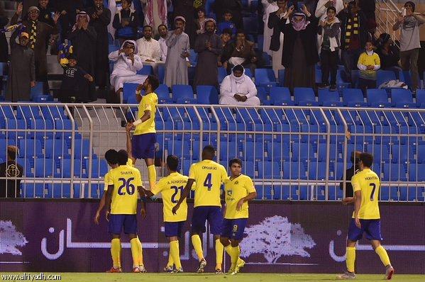 أهداف مباراة النصر والفتح 3-1 دوري عبد اللطيف جميل