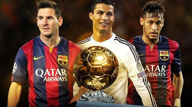 رسمياً: فيفا يعلن القائمة الثلاثية لمرشحي الكرة الذهبية 2015