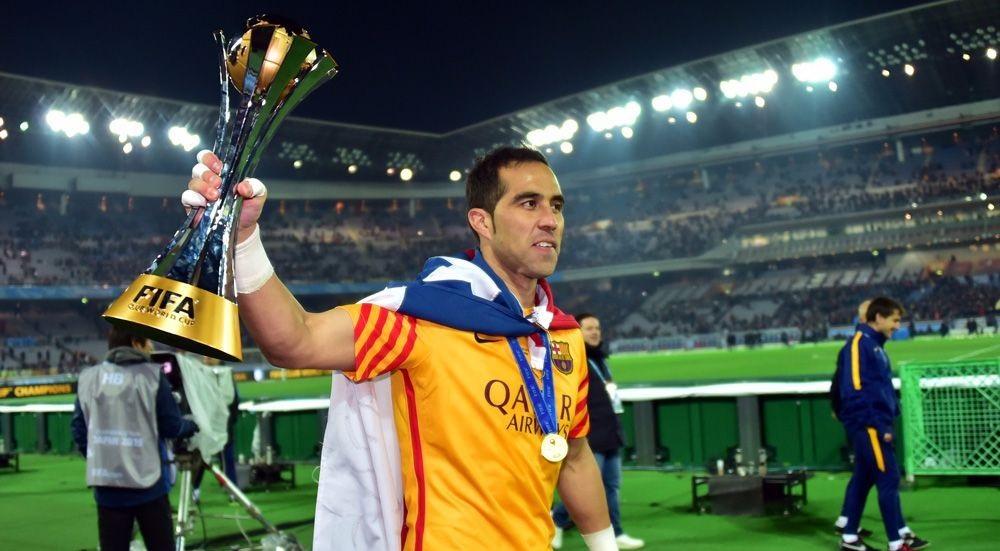 برافو أفضل لاعب في تشيلي 2015
