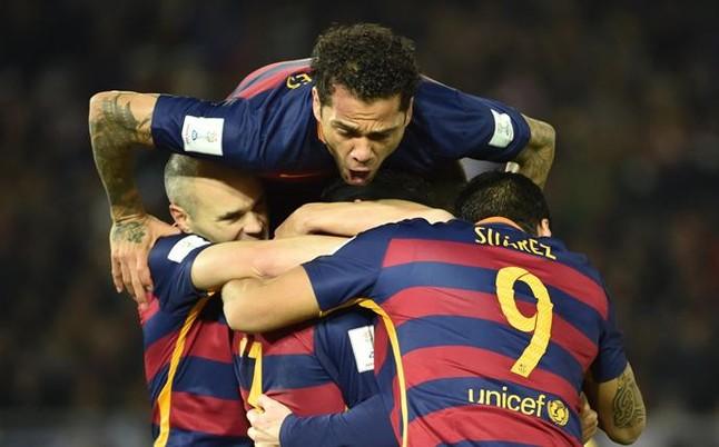 بالفيديو: برشلونة يتوج بطلاً لكأس العالم للأندية