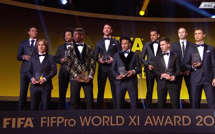 رسمياً … تشكيلة الفيفا في عام 2015