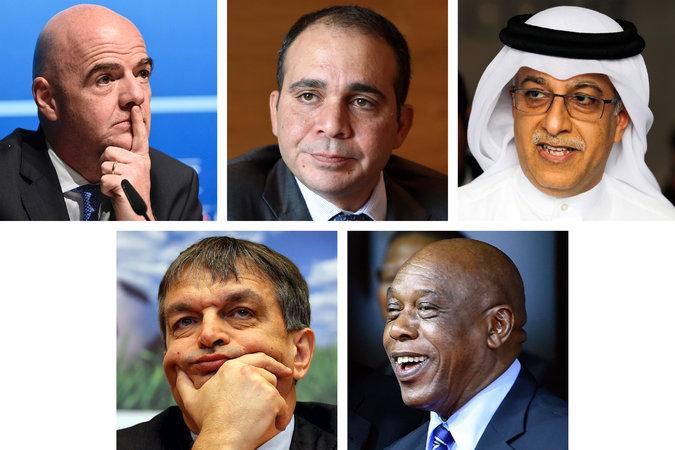 رسمياً … تعرف على المرشحين الـ 5 لرئاسة الفيفا