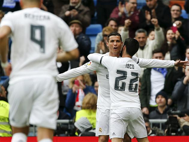 بالفيديو: ريال مدريد يكتسح خيخون في ثاني مباريات زيدان