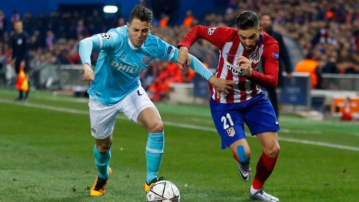 بالفيديو: اتلتيكو مدريد يجتاز ايندهوفن بركلات الجزاء ويصعد لربع نهائي دوري الأبطال