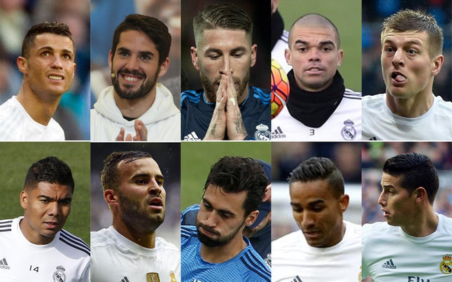 رئيس ريال مدريد يضع 10 لاعبين على القائمة السوداء