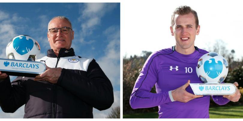 رانييري وهاري كين الأفضل في الدوري الإنجليزي عن شهر مارس