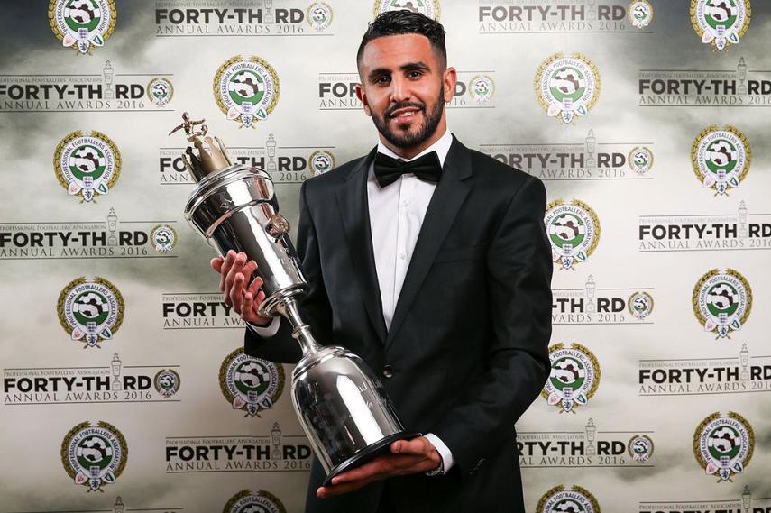 رسمياً … رياض محرز يفوز بلقب أفضل لاعب في الدوري الإنجليزي