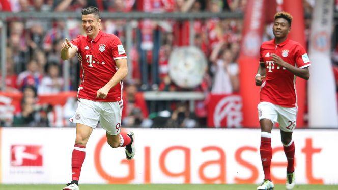 بالفيديو: بايرن ميونخ يتوج بلقب الدوري الألماني بعد الفوز على هانوفر