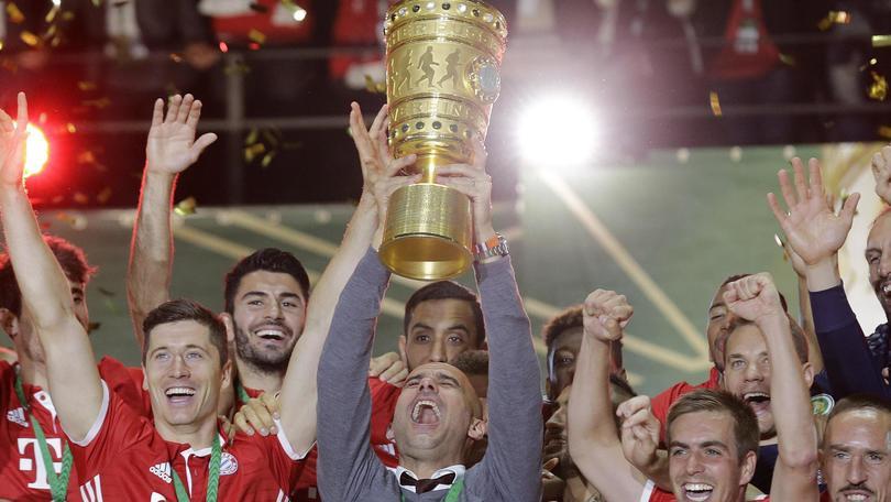 بالفيديو: بايرن ميونخ بطلاً لكأس ألمانيا بفوزه على بروسيا دروتموند